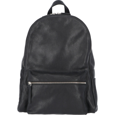 ORCIANI CHEVRETTE LEATHER BACKPACK