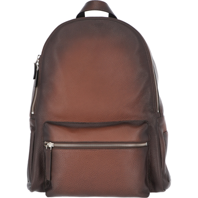 ORCIANI MICRON DEEP LEATHER BACKPACK