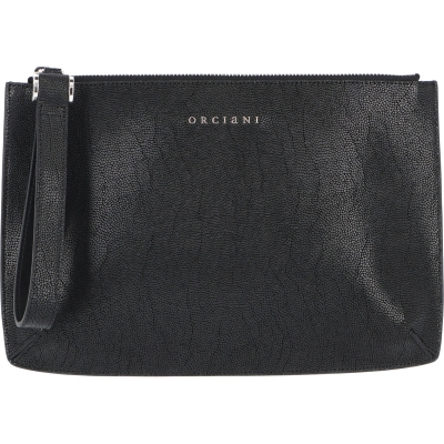 OCIANI LOGO-EMBELLISHED CLUTCH BAG