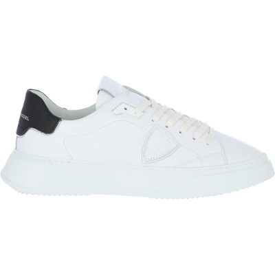 SNEAKERS IN PELLE TEMPLE VEAU PHILIPPE MODEL