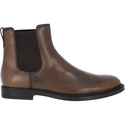 TOD'S ANKLE BOOTS IN LEATHER