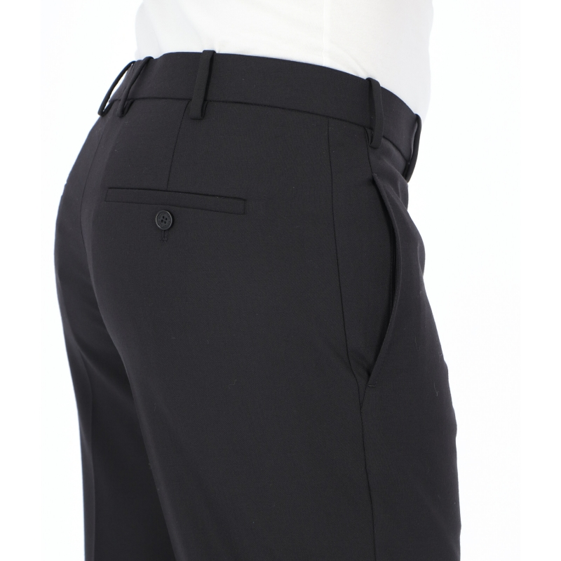 NEIL BARRETT TRAVEL RIB CUFF SLIM TROUSERS