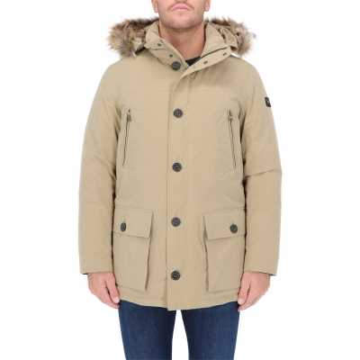 PARKA IN COTONE E PIUMA BALTIC IN TYPHOON PAUL & SHARK