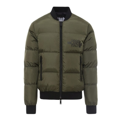 PIUMINO BOMBER IN NYLON DSQUARED2