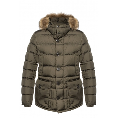 MONCLER CLUNY DOWN QUILTED PARKA