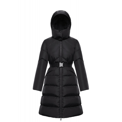 MONCLER AGOT LONG PADDED DOWN JACKET