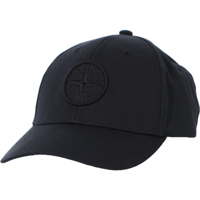 STONE ISLAND SIX-PANEL CAP IN COTTON REP