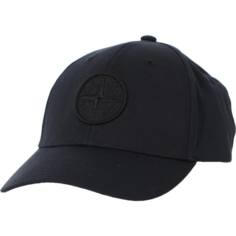 STONE ISLAND SIX-PANEL CAP IN COTTON REP
