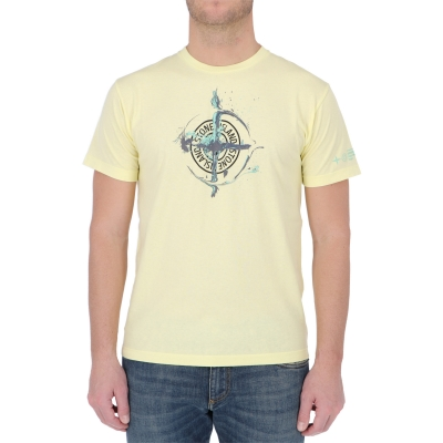 "STONE ISLAND ""MARBLE ONE"" SHORT SLEEVE T-SHIRT"
