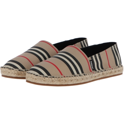 BURBERRY ALPORT ICON STRIPE ESPADRILLES