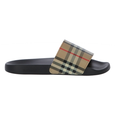 BURBERRY VINTAGE CHECK FURLEY SLIDES