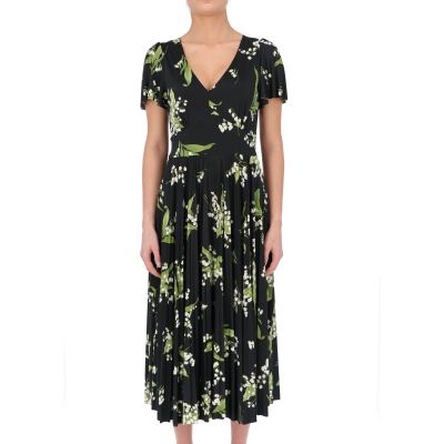 MAY LILY PRINTED MIDI' DRESS