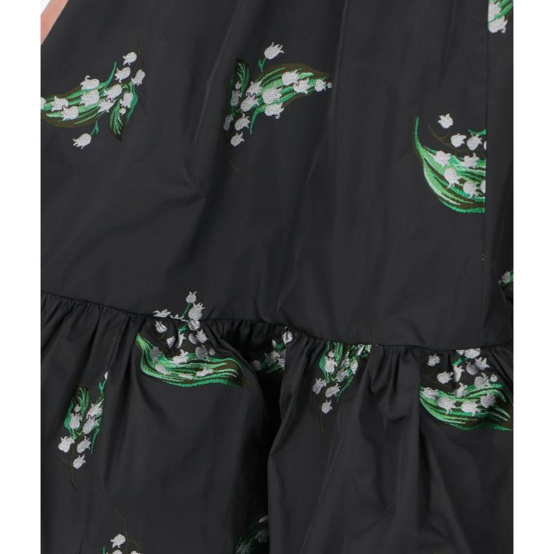 """MAY LILY"" JACQUARD TAFFETA' DRESS"