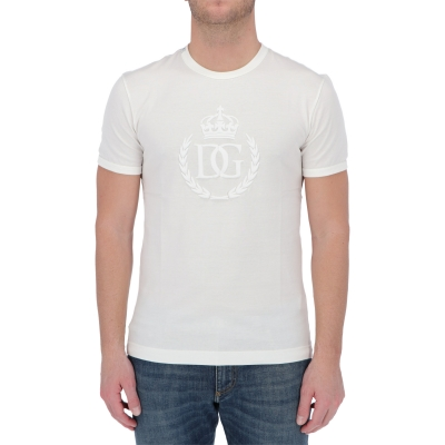 DOLCE & GABBANA SHORT SLEEVE COTTON T-SHIRT