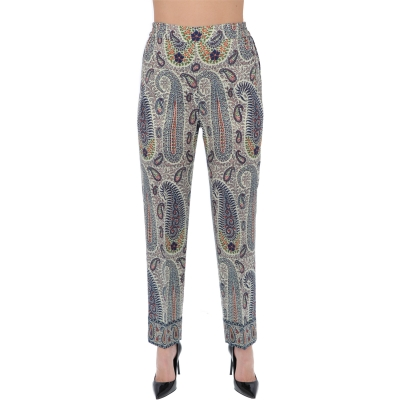 PAISLEY PRINTED JOGGING TROUSERS