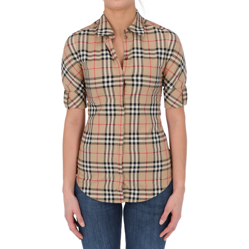 CAMICIA LUKA IN COTONE FANTASIA CHECK