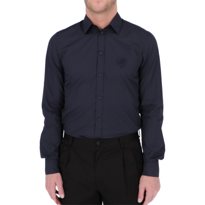DOLCE & GABBANA MARTINI-FIT COTTON SHIRT