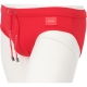 DOLCE & GABBANA SWIM BRIEFS WITH HIGH-CUT LEG AND BRANDED PLATE