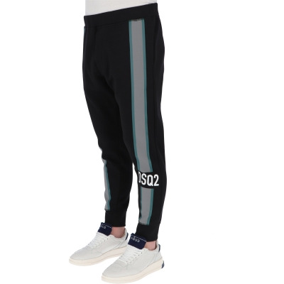 DSQUARED2 REFLECTIVE TAPE SWEATPANTS