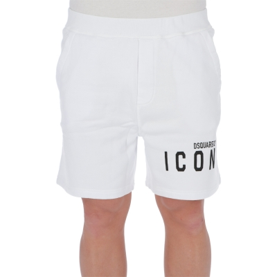 SHORTS IN FELPA DI COTONE ICON DSQUARED2
