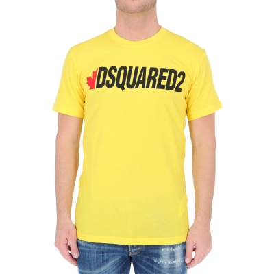 T-SHIRT MANICA CORTA IN COTONE DSQUARED2