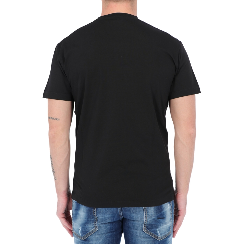 T-SHIRT MANICA COTA IN COTONE MADE IN ITALY DSQUARED2