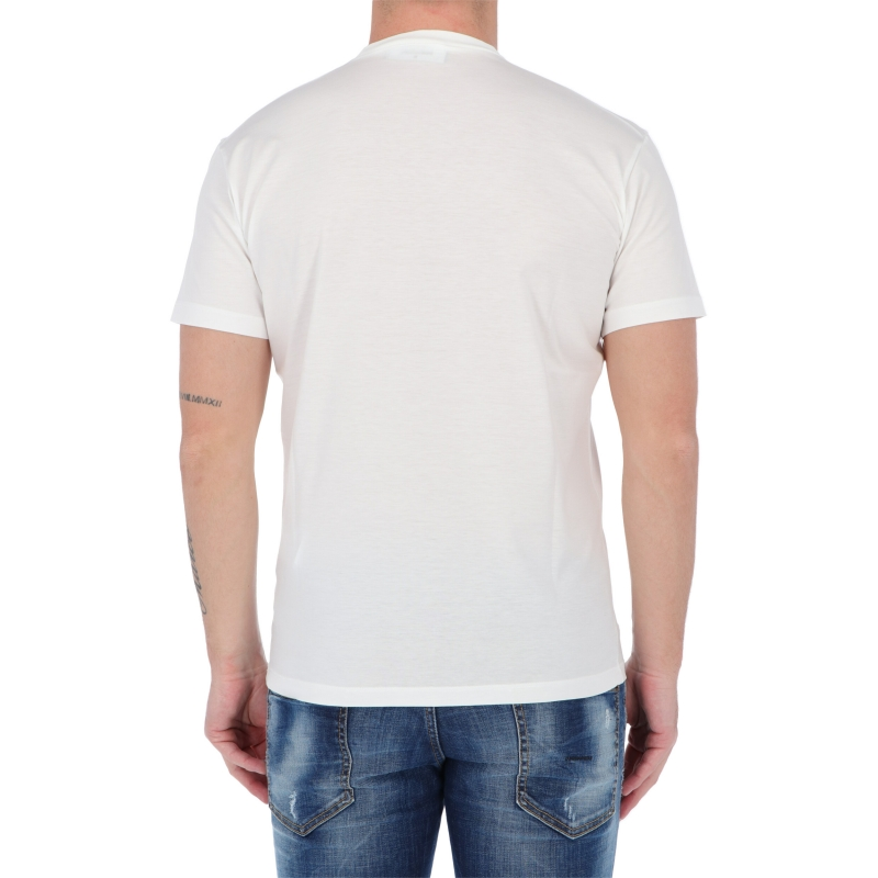 DSQUARED2 SHORT SLEEVE COTTON ICON T-SHIRT