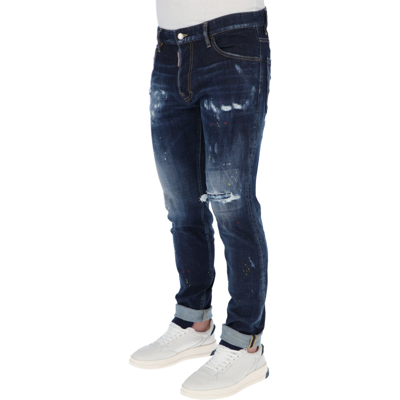 DSQUARED2 DARK 1 WASH COOL GUY JEANS