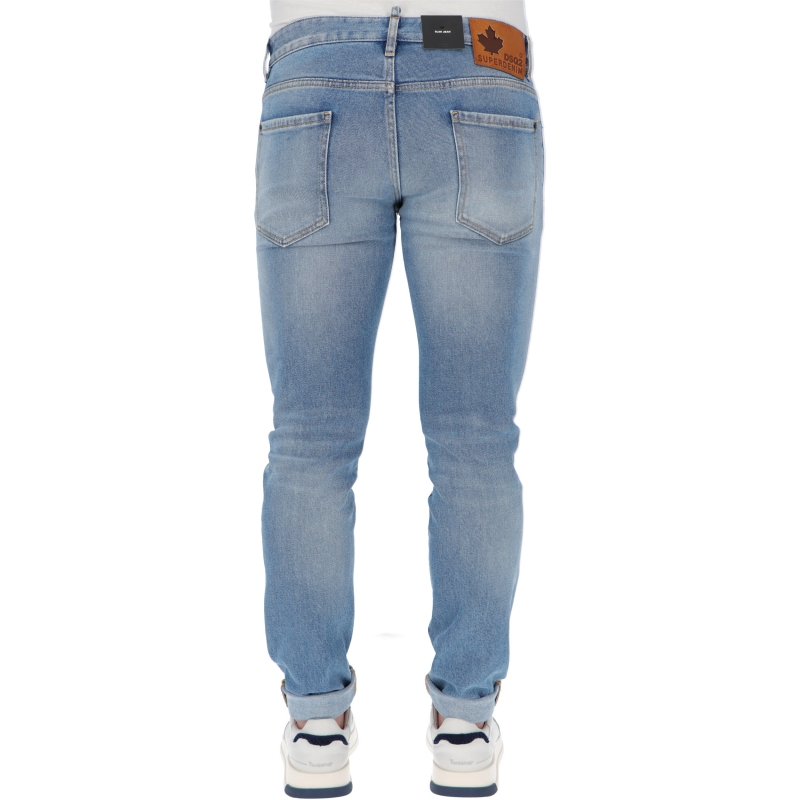 JEANS SLIM LIGHT & CLEAN WASH DSQUARED2