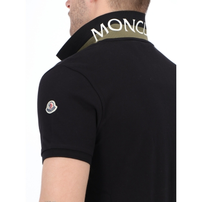 POLO IN PIQUET DI COTONE MONCLER