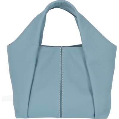 SOFT LEATHER AOU SHOPPING BAG