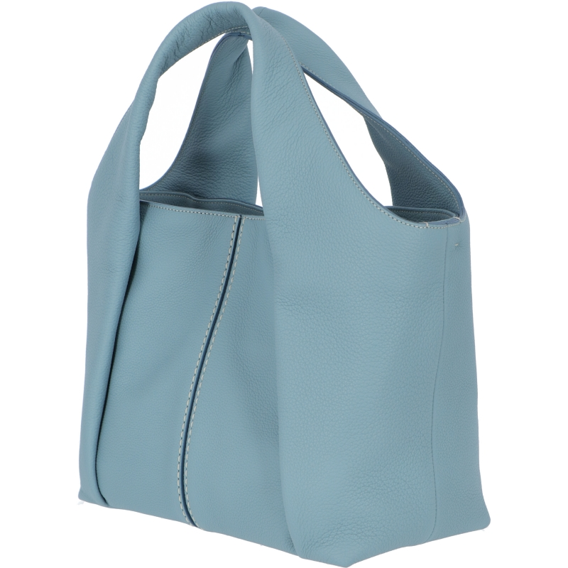 SOFT LEATHER AOU SHOPPING BAG