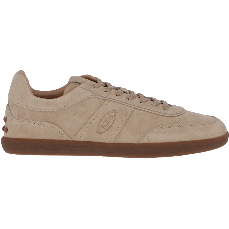 TABS SNEAKERS IN PELLE SCAMOSCIATA TOD'S
