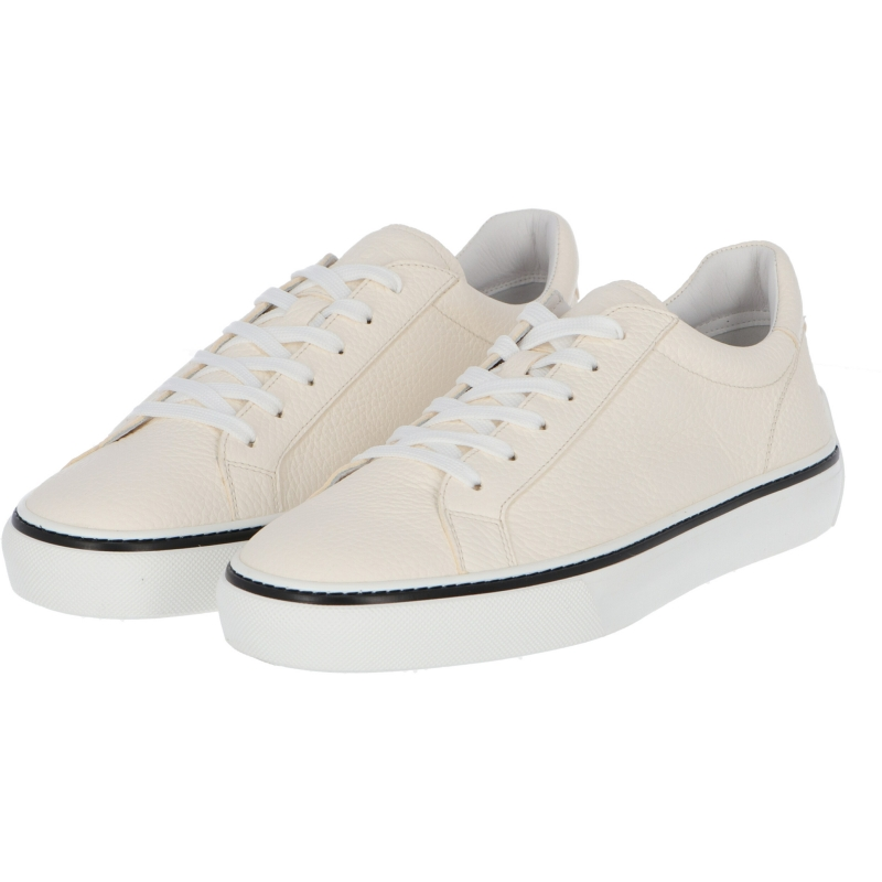 TOD'S SNEAKERS HAMMERED LEATHER SNEAKERS