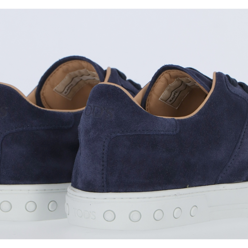 TOD'S LIGHT SPORT SUEDE SNEAKERS
