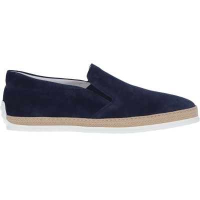 SLIP-ON IN PELLE SCAMOSCIATA TOD'S