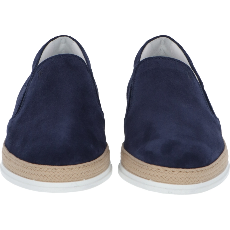 TOD'S SUEDE SLIP-ON SHOES