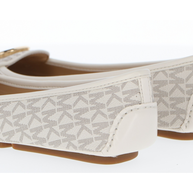 LILLIE FLAT SHOES MADE OF MONOGRAM COATED CANVAS