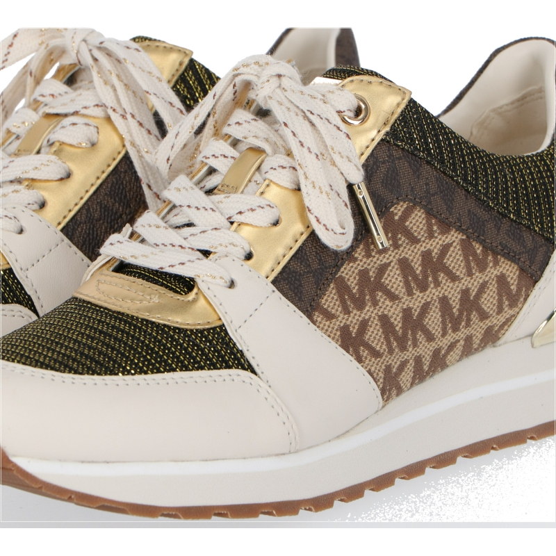 LEATHER AND CANVAS BILLIE SNEAKERS