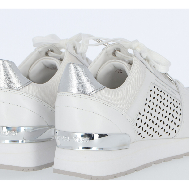 LEATHER AND FABRIC BILLIE SNEAKERS