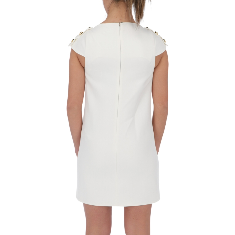 MINIDRESS WITH DECORATIVE BUTTONS