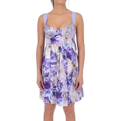 FLOWER PRINTED COTTON DRESS