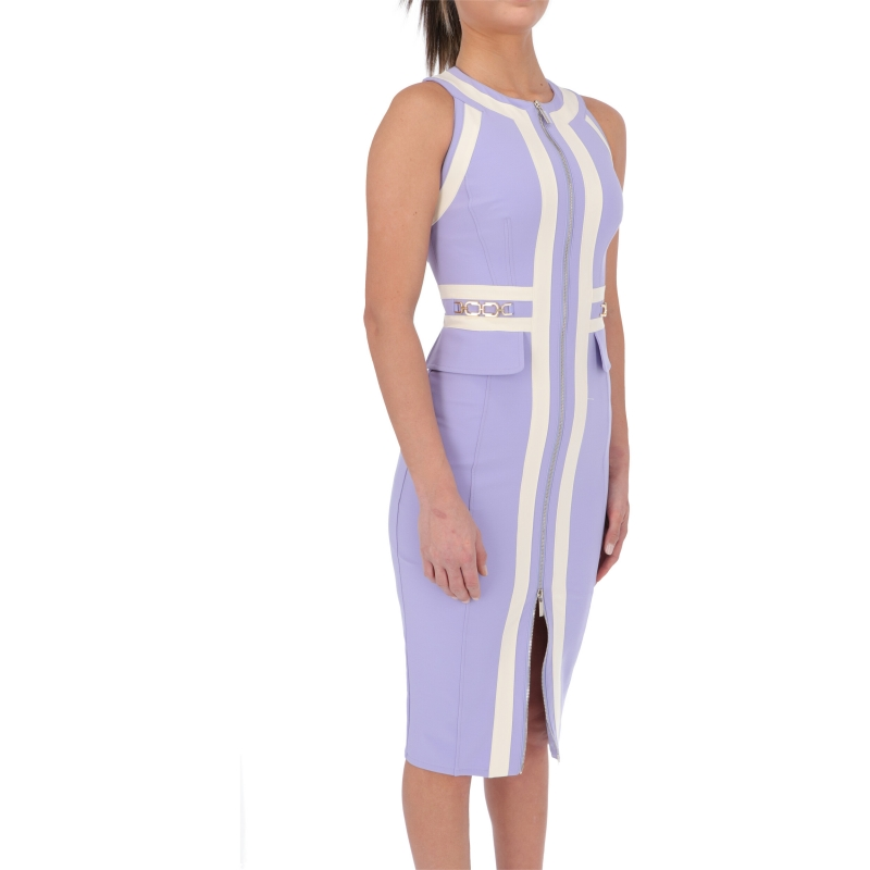 LONGUETTE DRESS WITH ZIP CLOSURE