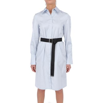 CHINTZ POPLIN SHIRT DRESS