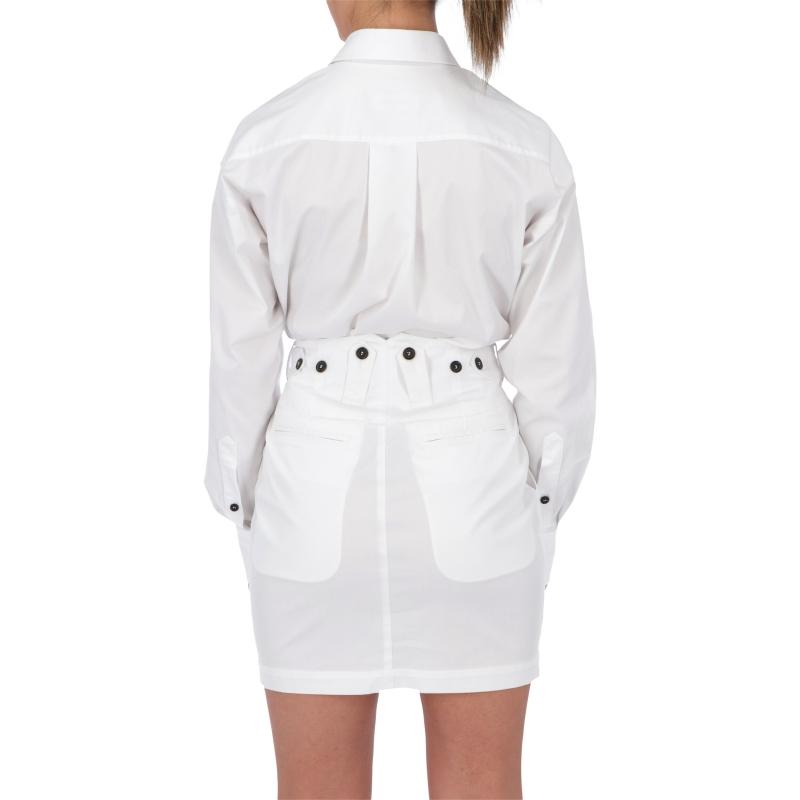 DSQUARED2 COTTON GABARDINE DRESS