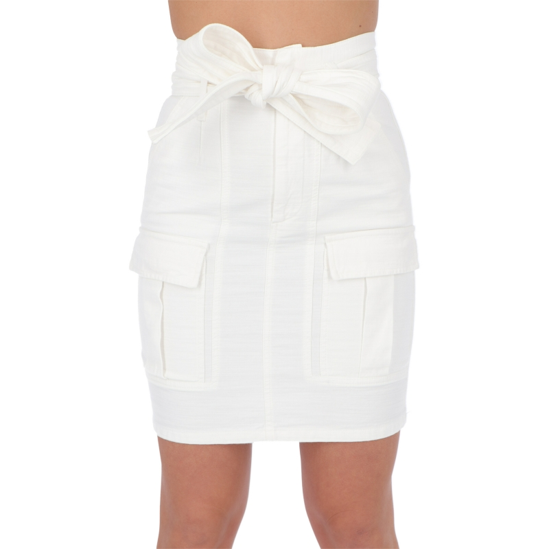 COTTON SKIRT WITH BOW