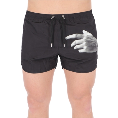 """NEIL BARRET """"THE OTHER HAND SERIES/01"""" SWIMSHORTS"""