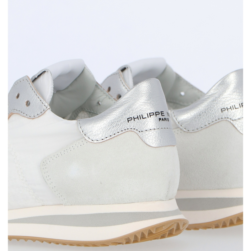 TRPX LEATHER AND FABRIC SNEAKERS