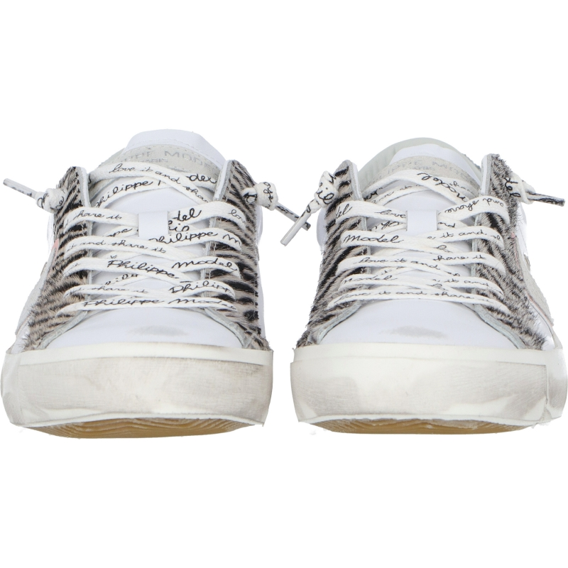 PRSX LEATHER SNEAKERS WITH INSERTS