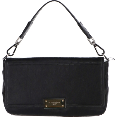 DOLCE & GABBANA NERO SICILIA BAG WITH BRANDED TAG